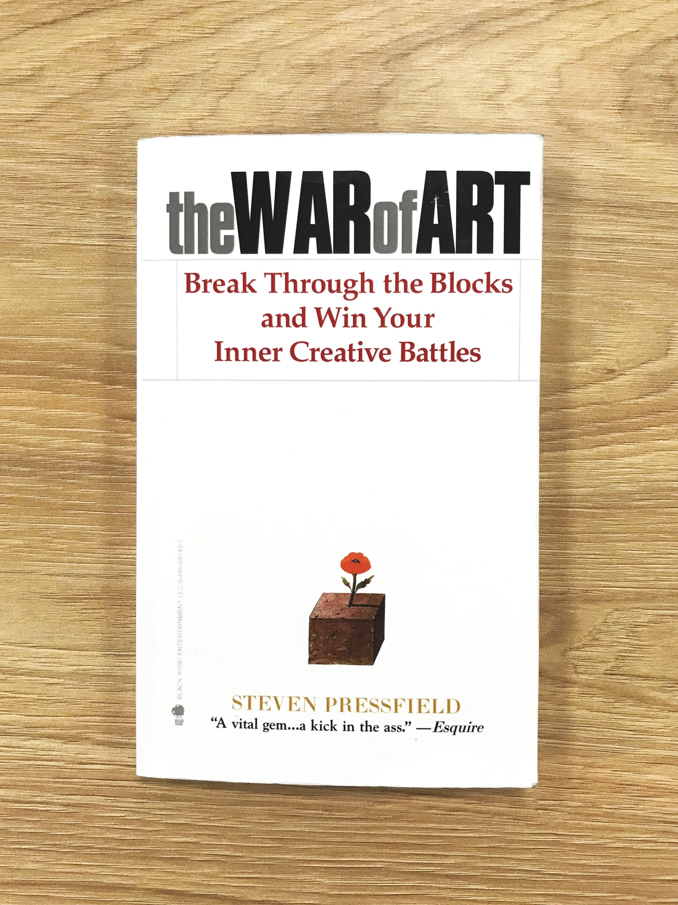 The War of Art by Steven Pressfield — Clintonslibrary