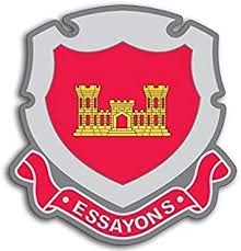 Amazon.com: LPF USA Magnet Army Corps of Engineers ESSAYONS Crest ...