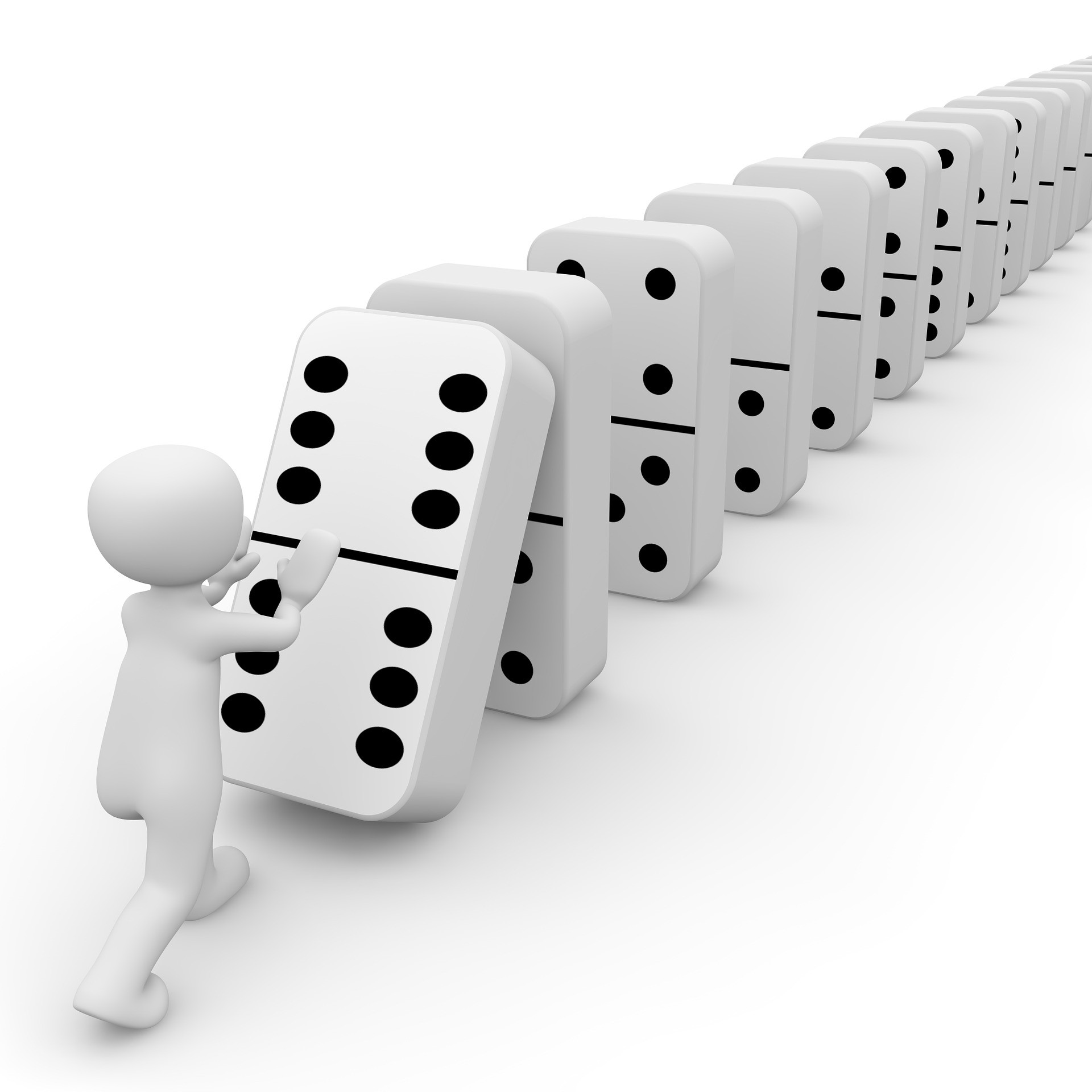 The Domino Effect Physics Can be Pretty Incredible | by AJP info | Medium